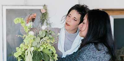 taller de Arte florar celine boroli