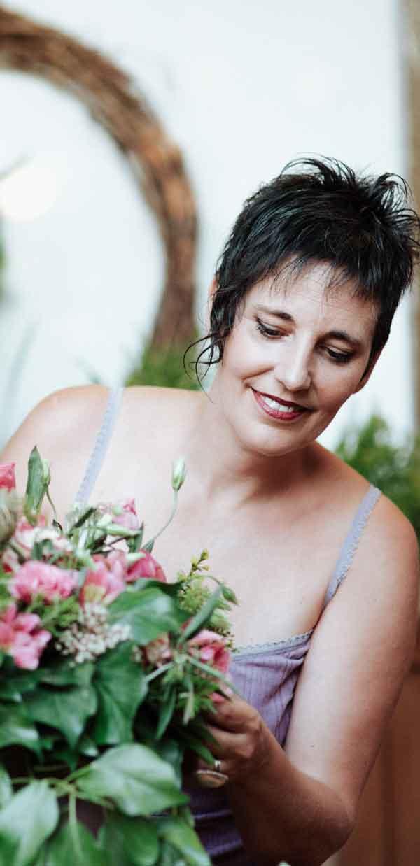 celine boroli cursos iniciación arte floral