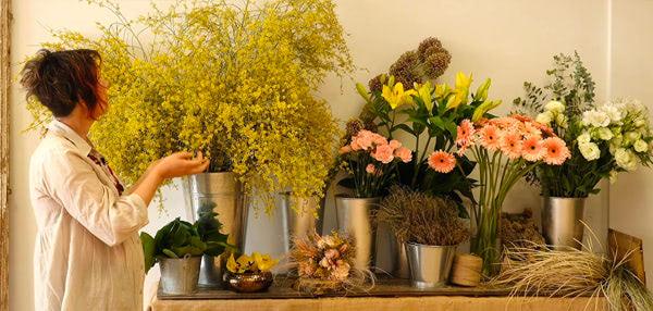 curso basico florista. El escaparate