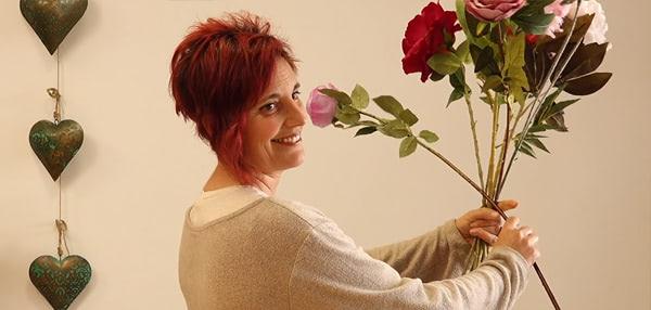 Curso basico florista. La técnica de la espiral para los ramos de flores