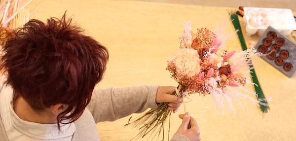 Curso formación floral. Curso iniciación a las flores preservadas