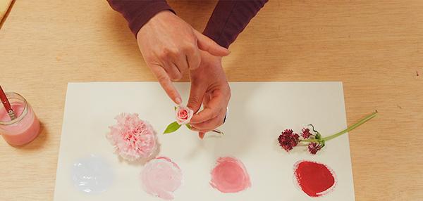 Este será un video muy breve para explicar la gama de color en las flores